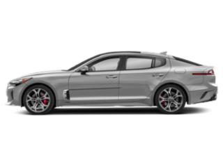 Silky Silver 2018 Kia Stinger Pictures Stinger Base RWD photos side view