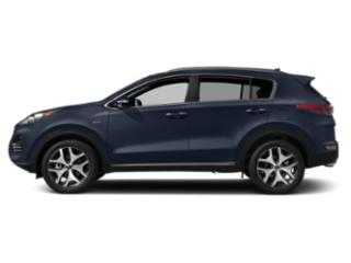 Pacific Blue 2018 Kia Sportage Pictures Sportage Utility 4D SX 2WD I4 Turbo photos side view