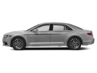 Ingot Silver Metallic 2018 Lincoln Continental Pictures Continental Sedan 4D Select AWD V6 photos side view