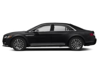 Black Velvet 2018 Lincoln Continental Pictures Continental Sedan 4D Select AWD V6 photos side view