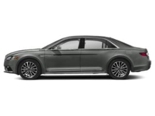 Magnetic Gray Metallic 2018 Lincoln Continental Pictures Continental Sedan 4D Select AWD V6 photos side view