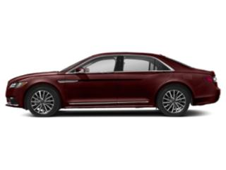 Burgundy Velvet Metallic Tinted Clearcoat 2018 Lincoln Continental Pictures Continental Sedan 4D Reserve V6 Turbo photos side view
