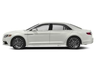 White Platinum Metallic Tri-Coat 2018 Lincoln Continental Pictures Continental Sedan 4D Reserve V6 Turbo photos side view