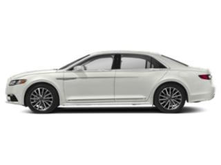 White Platinum Metallic Tri-Coat 2018 Lincoln Continental Pictures Continental Sedan 4D Select AWD V6 photos side view