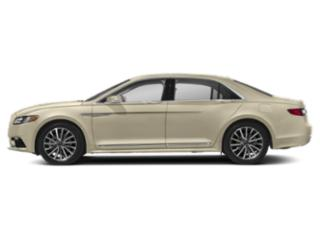 Ivory Pearl Metallic 2018 Lincoln Continental Pictures Continental Sedan 4D Reserve V6 Turbo photos side view