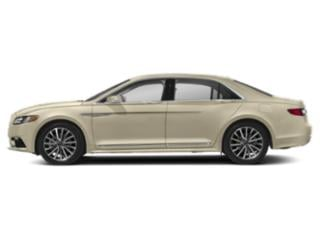 Ivory Pearl Metallic 2018 Lincoln Continental Pictures Continental Sedan 4D Select AWD V6 photos side view