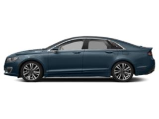Blue Diamond Metallic 2018 Lincoln MKZ Pictures MKZ Sedan 4D Reserve AWD V6 Turbo photos side view
