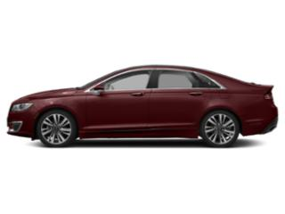 Burgundy Velvet Metallic Tinted Clearcoat 2018 Lincoln MKZ Pictures MKZ Sedan 4D Reserve AWD V6 Turbo photos side view