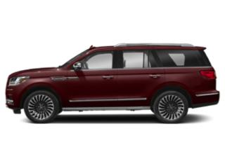 Burgundy Velvet Metallic Tinted Clearcoat 2018 Lincoln Navigator Pictures Navigator Utility 4D Black Label 4WD photos side view
