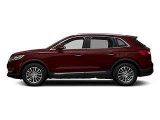 Burgundy Velvet Metallic Tinted Clearcoat 2018 Lincoln MKX Pictures MKX Utility 4D Premiere 2WD V6 photos side view