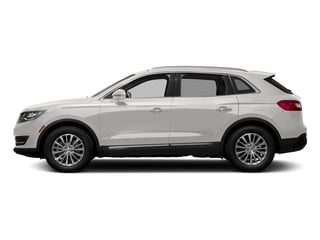 White Platinum Metallic Tri-Coat 2018 Lincoln MKX Pictures MKX Utility 4D Premiere 2WD V6 photos side view