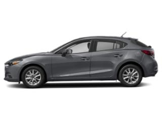 Machine Gray Metallic 2018 Mazda Mazda3 5-Door Pictures Mazda3 5-Door Sport Auto photos side view