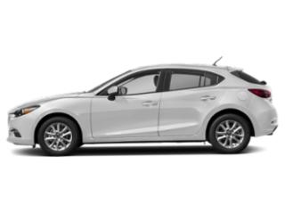 Snowflake White Pearl Mica 2018 Mazda Mazda3 5-Door Pictures Mazda3 5-Door Sport Auto photos side view