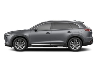 Machine Gray Metallic 2018 Mazda CX-9 Pictures CX-9 Utility 4D Signature AWD I4 photos side view