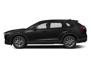 Jet Black Mica 2018 Mazda CX-9 Pictures CX-9 Touring AWD photos side view