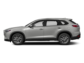 Sonic Silver Metallic 2018 Mazda CX-9 Pictures CX-9 Touring FWD photos side view
