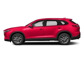 Soul Red Crystal Metallic 2018 Mazda CX-9 Pictures CX-9 Touring AWD photos side view