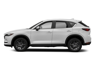 Snowflake White Pearl Mica 2018 Mazda CX-5 Pictures CX-5 Sport FWD photos side view