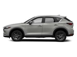 Sonic Silver Metallic 2018 Mazda CX-5 Pictures CX-5 Sport FWD photos side view