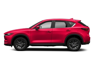 Soul Red Crystal Metallic 2018 Mazda CX-5 Pictures CX-5 Sport AWD photos side view