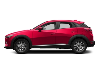 Soul Red Metallic 2018 Mazda CX-3 Pictures CX-3 Utility 4D GT AWD I4 photos side view