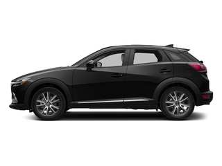 Jet Black Mica 2018 Mazda CX-3 Pictures CX-3 Utility 4D GT AWD I4 photos side view