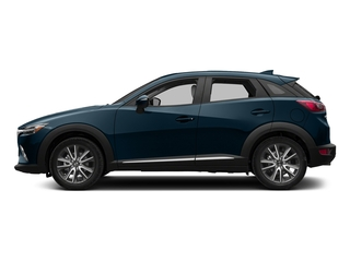 Deep Crystal Blue Mica 2018 Mazda CX-3 Pictures CX-3 Utility 4D GT AWD I4 photos side view