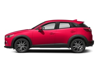 Soul Red Metallic 2018 Mazda CX-3 Pictures CX-3 Touring FWD photos side view