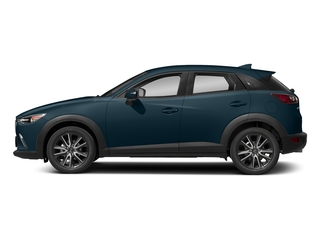 Deep Crystal Blue Mica 2018 Mazda CX-3 Pictures CX-3 Touring FWD photos side view