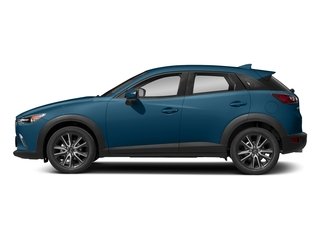 Eternal Blue Mica 2018 Mazda CX-3 Pictures CX-3 Touring FWD photos side view