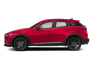 Soul Red Metallic 2018 Mazda CX-3 Pictures CX-3 Grand Touring FWD photos side view