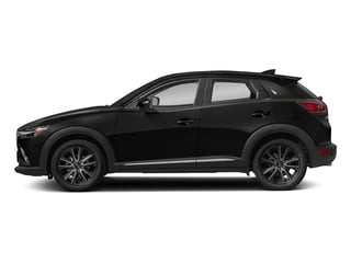 Jet Black Mica 2018 Mazda CX-3 Pictures CX-3 Grand Touring FWD photos side view