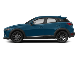 Eternal Blue Mica 2018 Mazda CX-3 Pictures CX-3 Grand Touring FWD photos side view