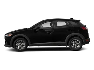 Jet Black Mica 2018 Mazda CX-3 Pictures CX-3 Sport AWD photos side view