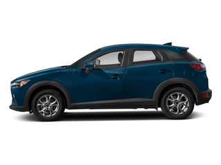 Eternal Blue Mica 2018 Mazda CX-3 Pictures CX-3 Sport AWD photos side view