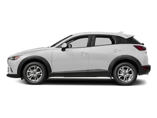 Snowflake White Pearl Mica 2018 Mazda CX-3 Pictures CX-3 Sport FWD photos side view