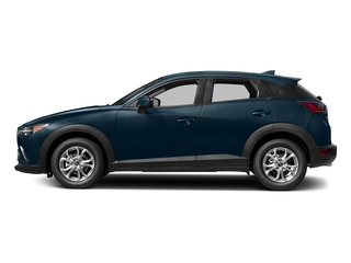 Deep Crystal Blue Mica 2018 Mazda CX-3 Pictures CX-3 Sport FWD photos side view