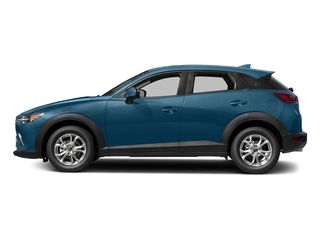 Eternal Blue Mica 2018 Mazda CX-3 Pictures CX-3 Sport FWD photos side view