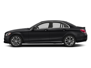 Black 2018 Mercedes-Benz C-Class Pictures C-Class C 300 Sedan photos side view