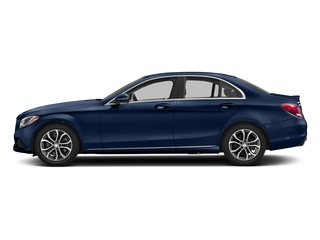 Brilliant Blue Metallic 2018 Mercedes-Benz C-Class Pictures C-Class C 300 Sedan photos side view
