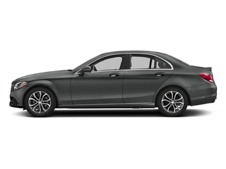 Selenite Grey Metallic 2018 Mercedes-Benz C-Class Pictures C-Class C 300 Sedan photos side view