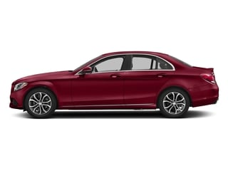 designo Cardinal Red Metallic 2018 Mercedes-Benz C-Class Pictures C-Class C 300 Sedan photos side view