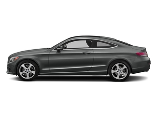 Selenite Grey Metallic 2018 Mercedes-Benz C-Class Pictures C-Class C 300 4MATIC Coupe photos side view