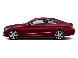 designo Cardinal Red Metallic 2018 Mercedes-Benz C-Class Pictures C-Class C 300 4MATIC Coupe photos side view