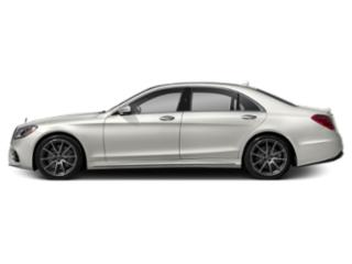 designo Cashmere White Magno 2018 Mercedes-Benz S-Class Pictures S-Class S 450 4MATIC Sedan photos side view