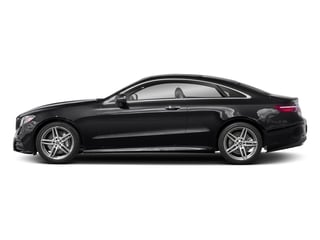 Black 2018 Mercedes-Benz E-Class Pictures E-Class E 400 4MATIC Coupe photos side view