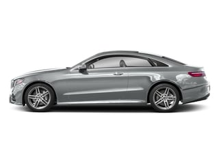 Iridium Silver Metallic 2018 Mercedes-Benz E-Class Pictures E-Class E 400 4MATIC Coupe photos side view