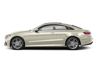 designo Diamond White 2018 Mercedes-Benz E-Class Pictures E-Class E 400 4MATIC Coupe photos side view
