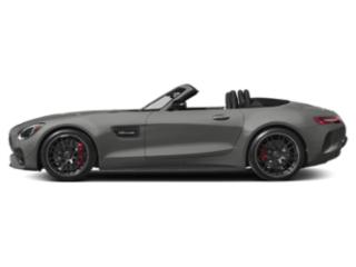 designo Selenite Grey Magno 2018 Mercedes-Benz AMG GT Pictures AMG GT AMG GT C Roadster photos side view