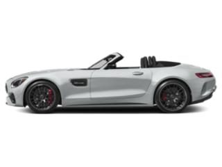 Iridium Silver Metallic 2018 Mercedes-Benz AMG GT Pictures AMG GT AMG GT C Roadster photos side view